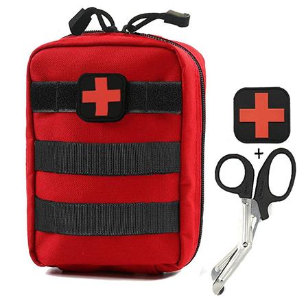 Infityle Medical Pouch - 1000D Nylon Tactical MOLLE Ifak EMT Utility Bag