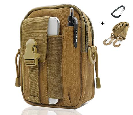 SEVENPICKS Tactical Waist Pack Multi Purpose Bag EDC Pouch Utility