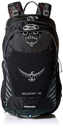 Osprey Packs Escapist 25 Daypacks, Black, Small/Medium